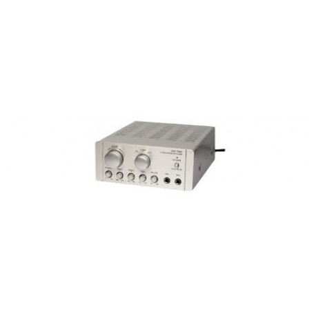 AMPLIFICATORE STEREO 2X25W + 3 ING. LINE+ 2 ING. M