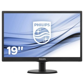 MONITOR LCD W-LED 18.5 NERO PHILIPS