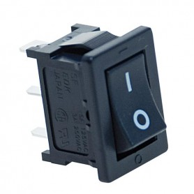 INTERRUTTORE SWITCH ON/OFF 3A 250Vac NERO