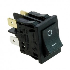 INTERRUTTORE SWITCH ON/OFF 1A 250Vac NERO