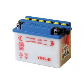 BATTERIA PER MOTO POWER THUNDER YB4L-B 12V-4AH