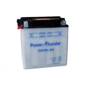 BATTERIA PER MOTO POWER THUNDER YB10L-A2 12V-11AH