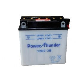 BATTERIA PER MOTO POWER THUNDER 12N7-3B 12V-8AH