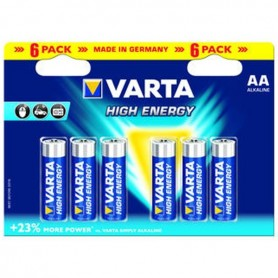 Stilo Alkaline High Energy Bl. 6 Pz Varta