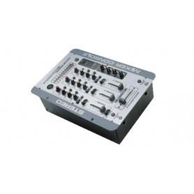 MIXER AUDIO STEREO 3 CH 2 ING. MIC.+ 5 ING. LINE C