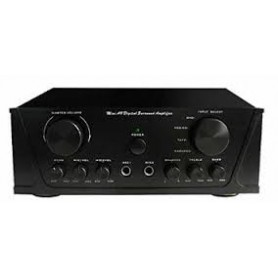 Amplificatore Stereo 2x50w + 4 Ing. Line+ 2 Ing. M