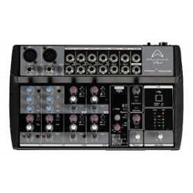 MIXER AUDIO STEREO 10 CH 2 ING. MIC.+ 8 ING. LINE