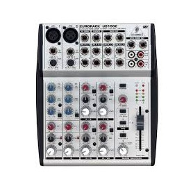 MIXER AUDIO STEREO 4 CH 2 ING. MIC.+10 ING. LINE P