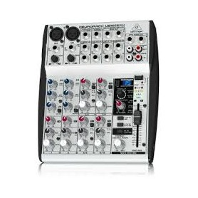 MIXER AUDIO STEREO 4 CH 2 ING. MIC.+10 ING. LINE C