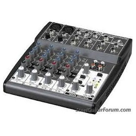 MIXER AUDIO STEREO 4 CH 2 ING. MIC.+ 4 ING. LINE M