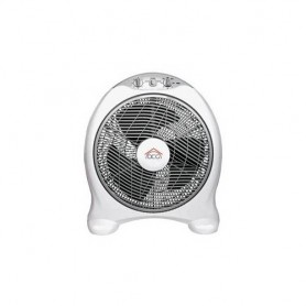 VENTILATORE BOX FAN DIAMETRO 40CM CON TIMER