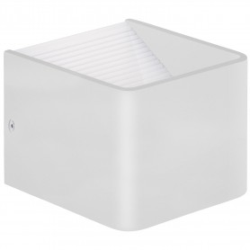APPLIQUE LED 10X10 CM ECOFEE LUCE CALDA