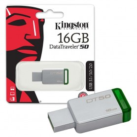 PEN DRIVE USB 16GB DT50 3.0/3.1 KINGSTON