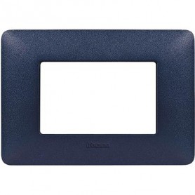 PLACCA MATIX 3 MODULI BLUE MERCURIO