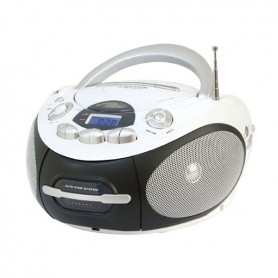 LETTORE CD/MP3 PORTATILE RADIO REGISTRATORE USB
