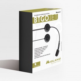 INTERFONO BLUETOOTH PLUG&PLAY BTGO JET PER CASCHI
