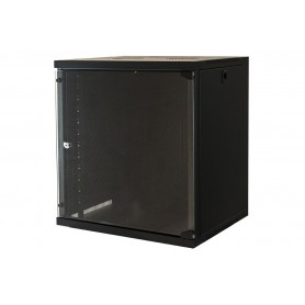 "ARMADIO RACK A MURO 19"" 12 UNITÀ 620*560*450MM NER"
