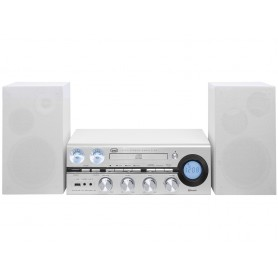 SISTEMA HI FI BLUETOOTH USB CD MP3 RADIO FM GRIGIO