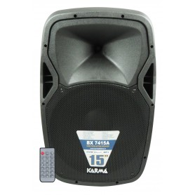BOX AMPLIFICATO 450W KARMA BLUETOOTH USB MICRO SD