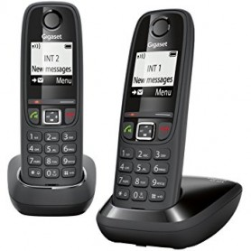 TELEFONO CORDLESS DECT AS405 DUO