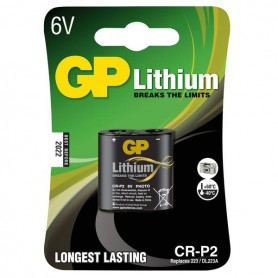 BATTERIA LITIO 6V 1,3AH GP CR-P2 GP