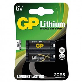 BATTERIA LITIO 2CR5 6V 1,3 AH GP